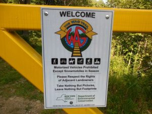 Hike the WAG Trail to the PA Border @ Shongo NY DEC Paking Area